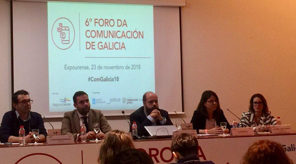 La comunicación política centró una de las mesas del VI Foro de la Comunicación de Galicia