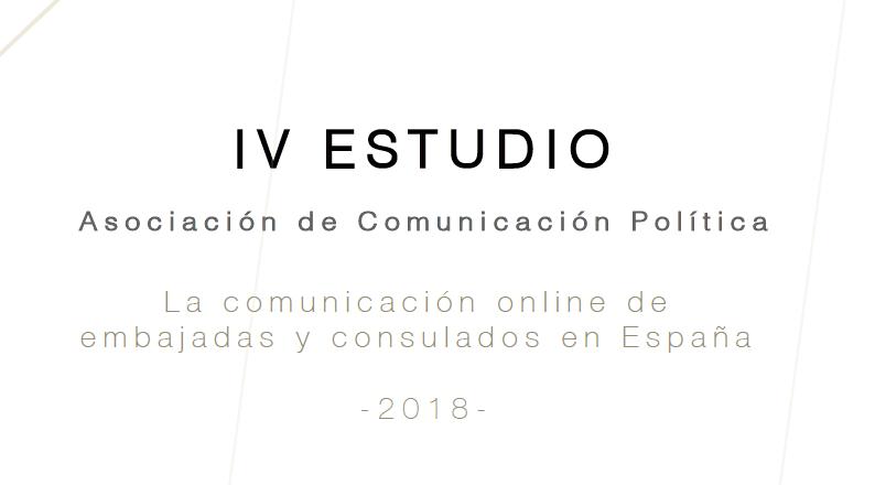 IV Estudio ACOP: la comunicación online de las delegaciones internacionales en España