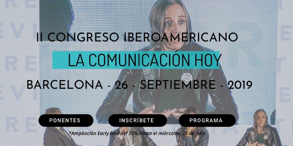 El II Congreso Iberoamericano hace un descuento exclusivo a los socios de ACOP