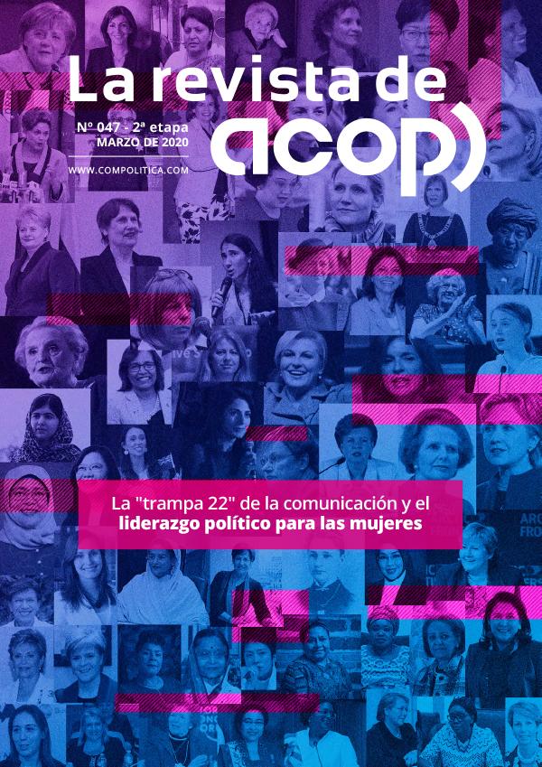 """Nº47 ET.2: La """"trampa 22"""" de la comunicación y el liderazgo político para las mujeres"""